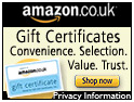 Amazon Gift Certificates - Book Gifts